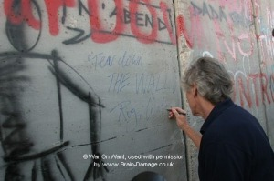 roger waters at wall